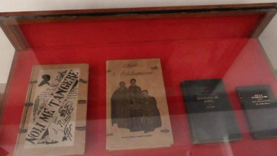 Writings of Dr. Jose Rizal including Noli me Tangere and El Filibusterismo.