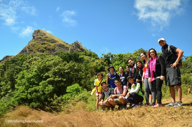 My Pico de Loro hiking buddies