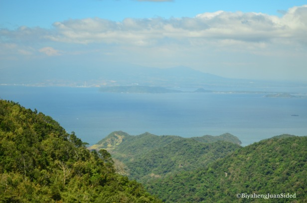 the view of Corregidor Island and of the Municipality of Mariveles