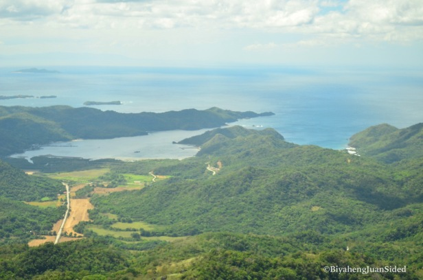 a view of the Ternate side of the mountain
