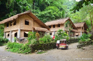 Mangyan Village Houses
