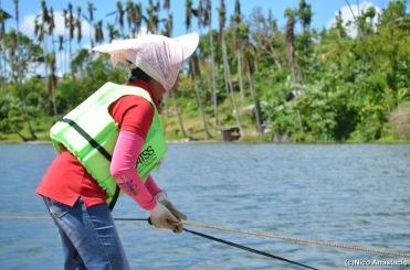 Pandin Lake in San Pablo City, Laguna and Yambu Lake in