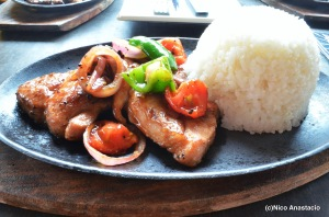 Salt and Pepper Pork Steak