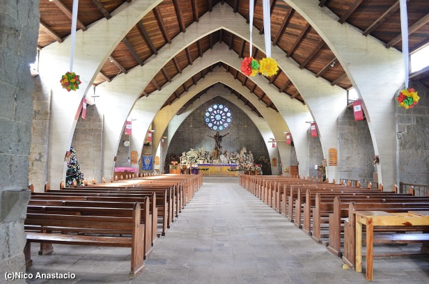 the interior of the Church of Mary the Virgin