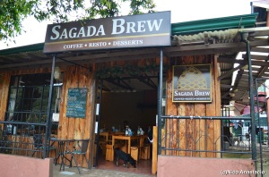 the facade of the Sagada Brew