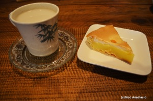 the famous lemon pie of the Sagada Lemon Pie House and Mountain Milktea
