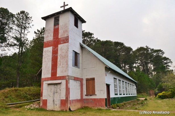 an Anglican church in Bangaan