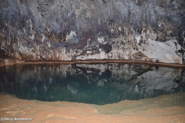 "the ""swimming pool"" inside the Sumaging Cave"
