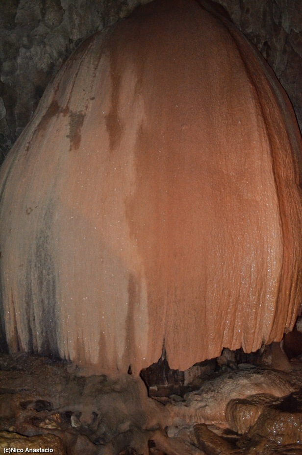 "the ""rice granary"" inside the  Sumaging Cave"