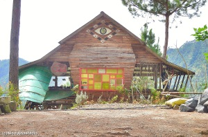 the facade of the Gaia Restaurant