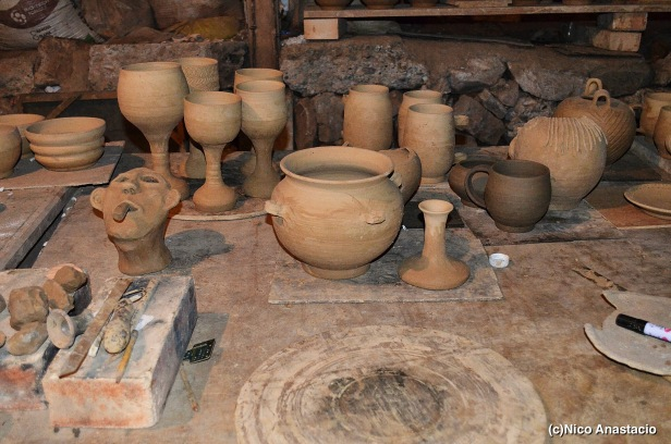 almost done clay pots of Sagada