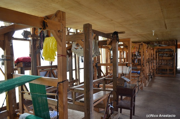 Sagada weaving looms