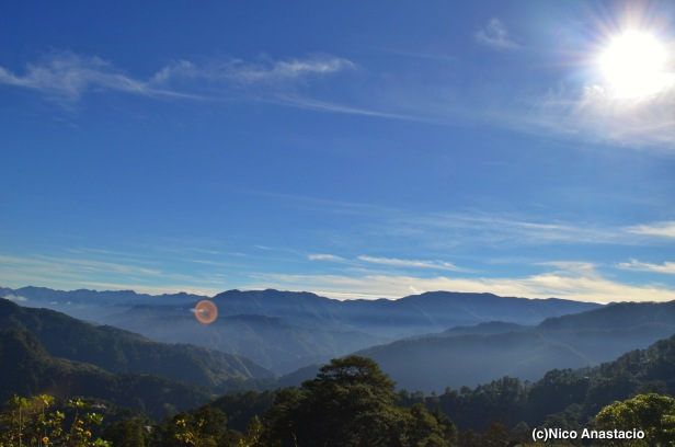 a great view along the way going to Bontoc