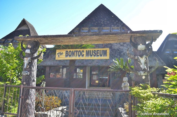 the facade of the Bontoc Museum