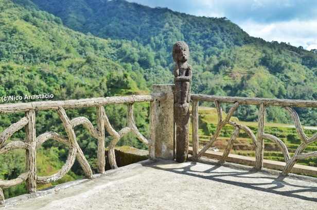 the main view point of the Banaue Rice Terraces