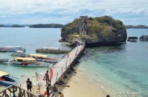 bridge connecting two islands