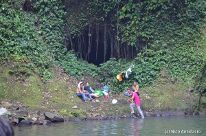 a cave near Buruwisan falls