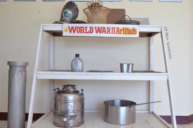 world war II artifacts left in Campintac