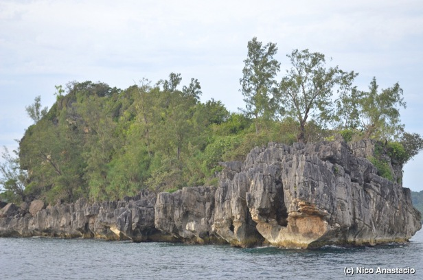 a closer look of the kisses islet