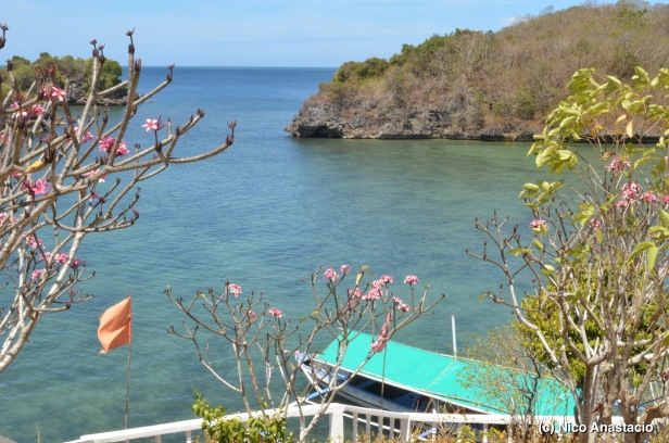 A view from the trail of the Lamuyan Island