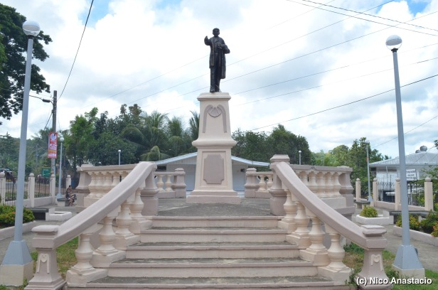 the statue of young Jose Rizal