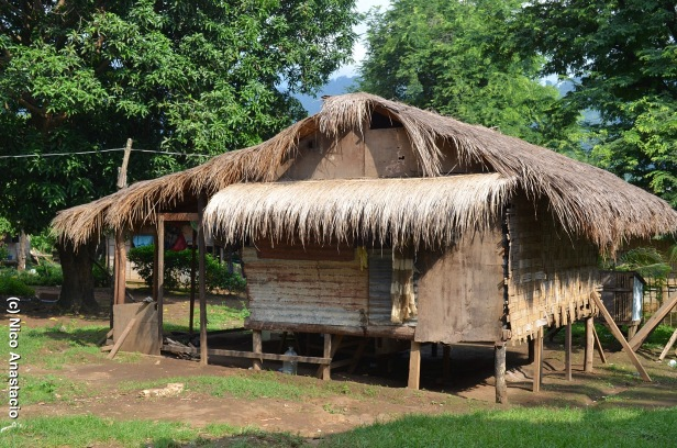 A typical Aeta house