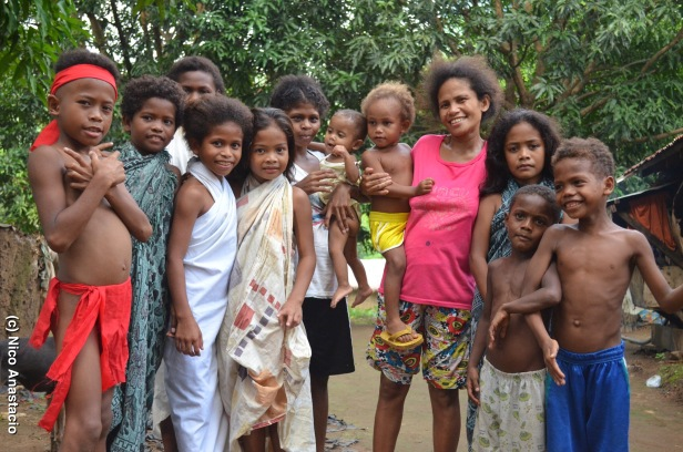 (A visit in an indigenous people's community, April 16, 2015)