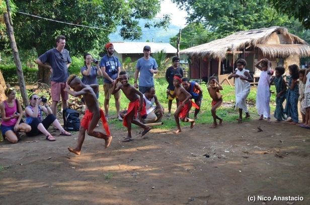 a tribal dance on farming practices
