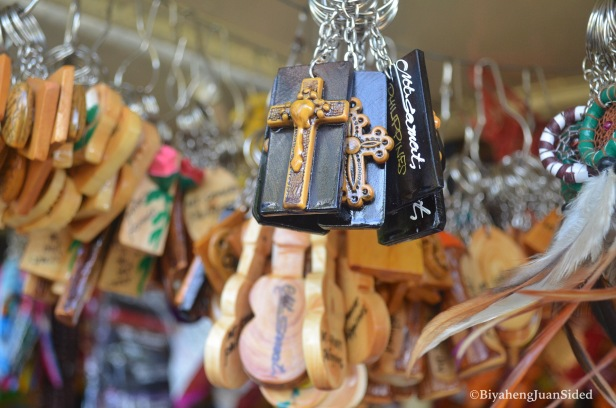 Sample Souvenirs that can be bought in Mt. Samat