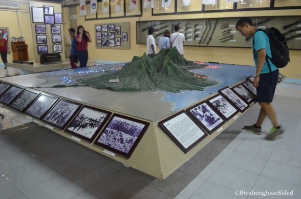 a 3-d model of the map of Bataan