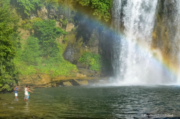 a closer look at the falls