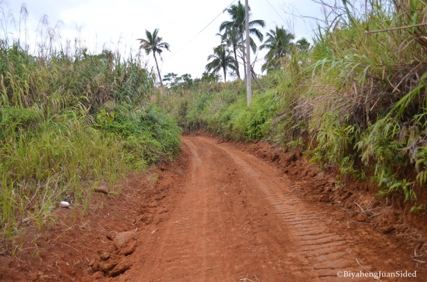 a relatively smooth road