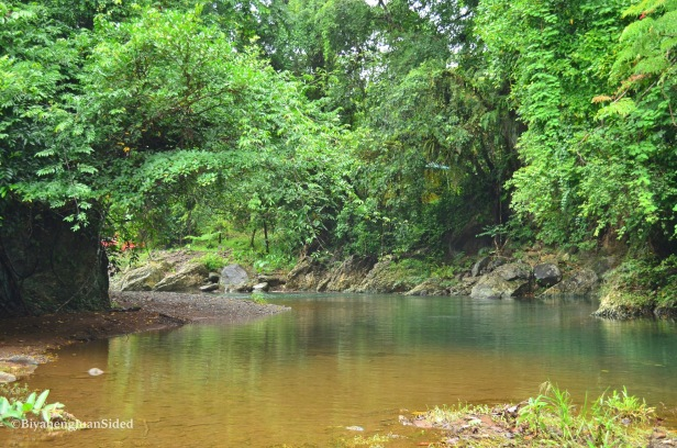 the beautiful river at Brgy Paowin