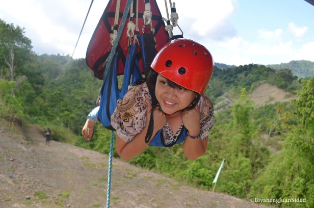 Marcielle, a friend who were able to conquer her fear of heights