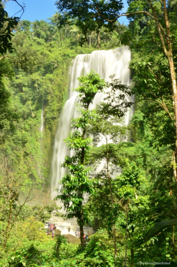 our first view of the great Hulugan Falls