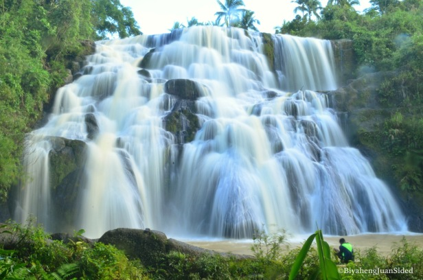Aliw falls, our third and last falls for the day