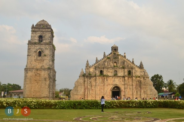 Paoay Church and its belfry