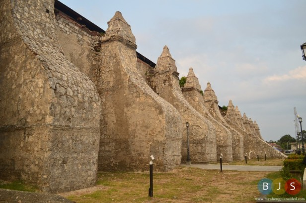 The exterior designs of Paoay Church
