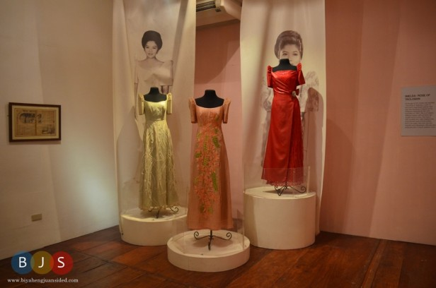 Gowns of Former First Lady Imelda Marcos, as displayed in Marcos Museum