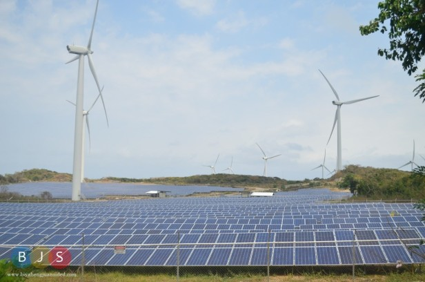renewable sources of energy: wind and solar in Burgos