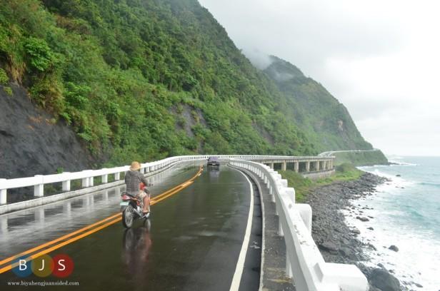 the winding Patapat viaduct