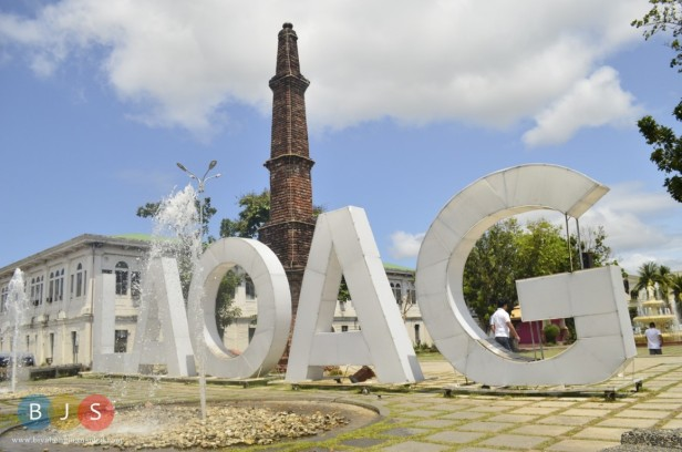 Laoag City and the monument