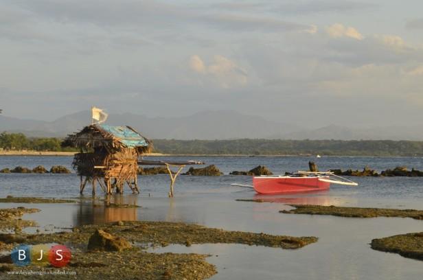 A fisherman's hut